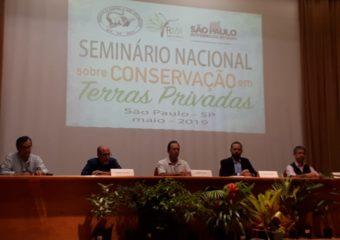 Seminário Nacional sobre Conservação em Terras Privadas